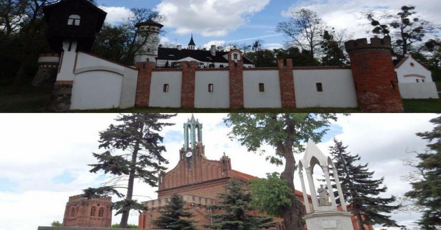 Miłosław - Wlkp .700 letnie miasto- Wiosna Ludów -zameczek mysliwski z XIX w - zdjęcie