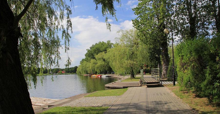 Bulwar w Augustowie - zdjęcie