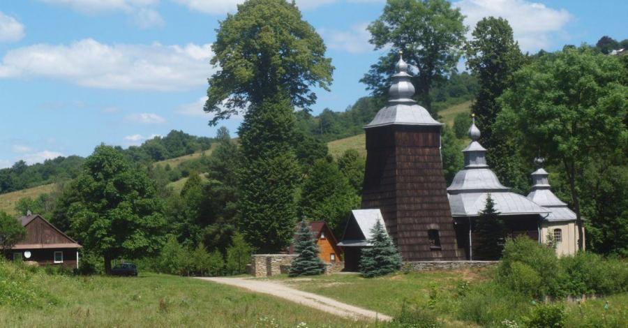 Dawna cerkiew w Chyrowej - zdjęcie