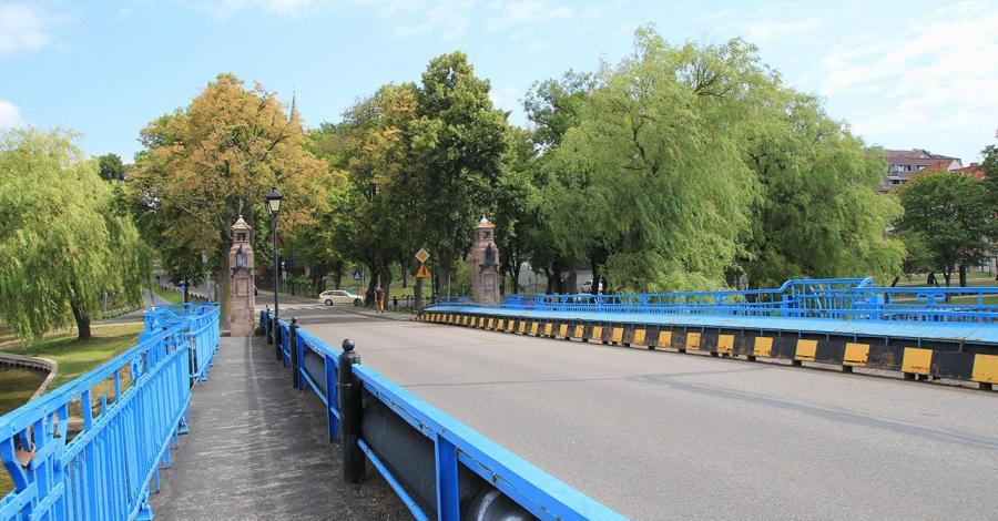 Most zamkowy w Ełku - zdjęcie