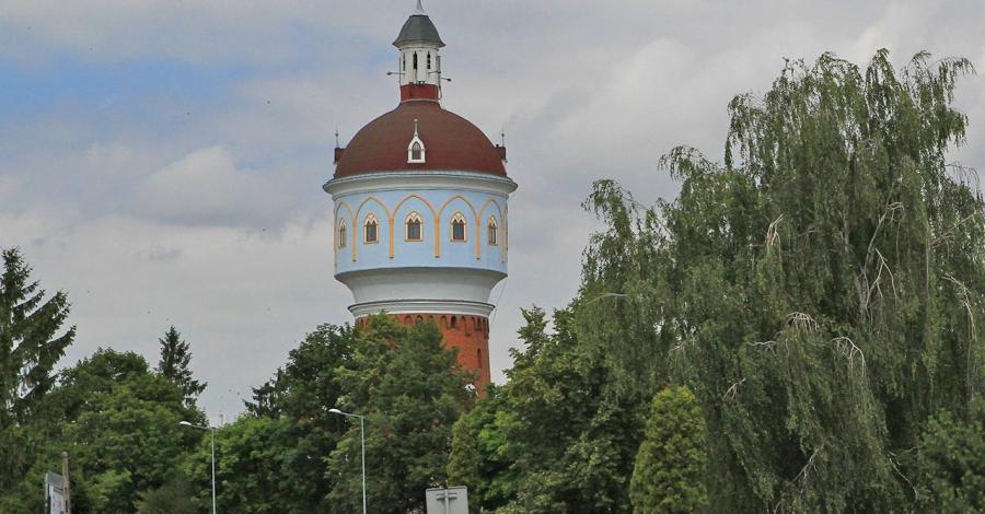 Wieża ciśnień w Ełku - zdjęcie