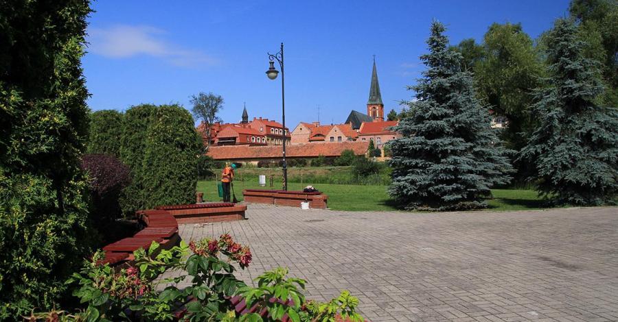 Plac Jana Pawła II w Ełku - zdjęcie