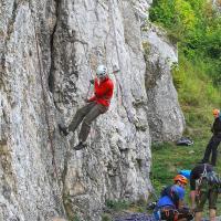 Dolina Bolechowicka wspinaczka