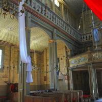 Drewniany kościół w Narwi