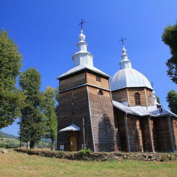 Cerkiew w Muszynie Złockiem