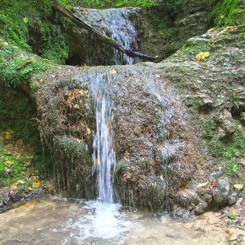 Wodospad w Dolinie Bolechowickiej