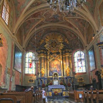 Kraków kościół Św. Barbary, Anna Piernikarczyk