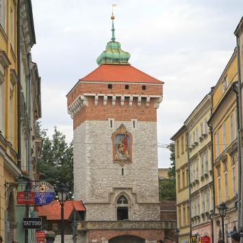 Brama Florianska, Anna Piernikarczyk