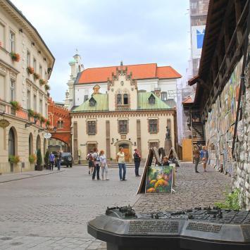 Zaułek Czartoryskich w Krakowie