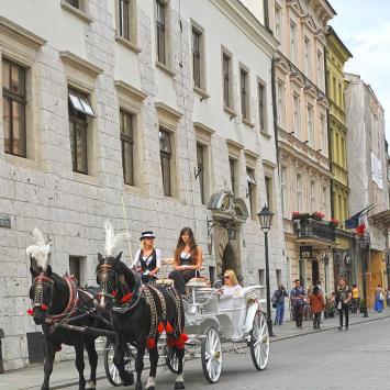 ulica Grodzka dorożki, Anna Piernikarczyk