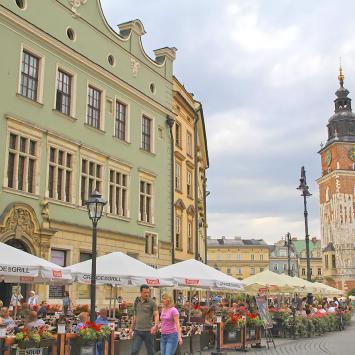 Rynek w Krakowie - zdjęcie