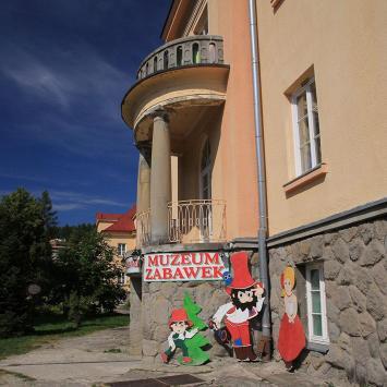 Muzeum zabawek w Krynicy Zdroju