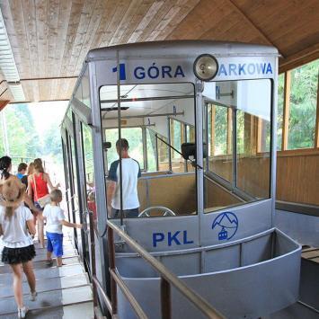 Kolej na Górę Parkową w Krynicy