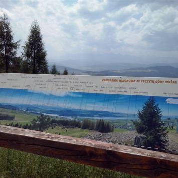Punkt widokowy na Górze Wdżar