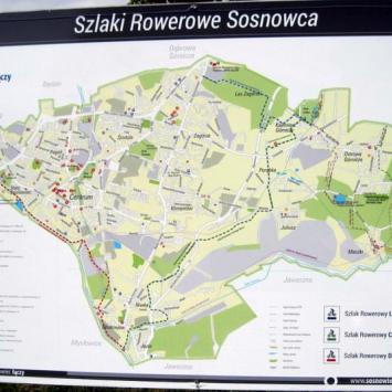 Zagłębie Dąbrowskie (Sosnowiec-trasy rowerowe)