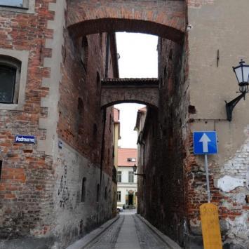 Ulica Ciasna w Toruniu