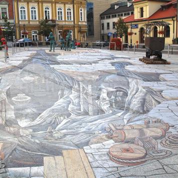 Obraz 3D w Wieliczce - zdjęcie