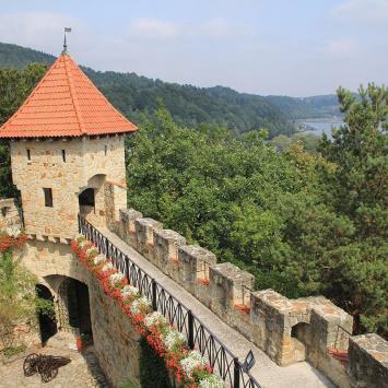 Zamek Tropsztyn - zdjęcie