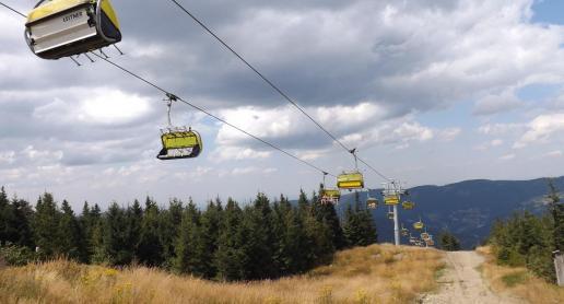 Szczyrk - nowa kolej na Skrzyczne - zdjęcie