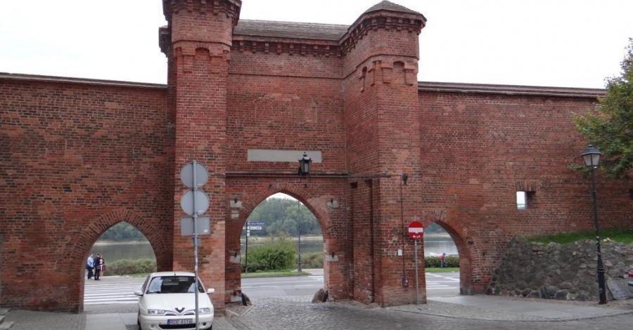 Brama Żeglarska w Toruniu - zdjęcie