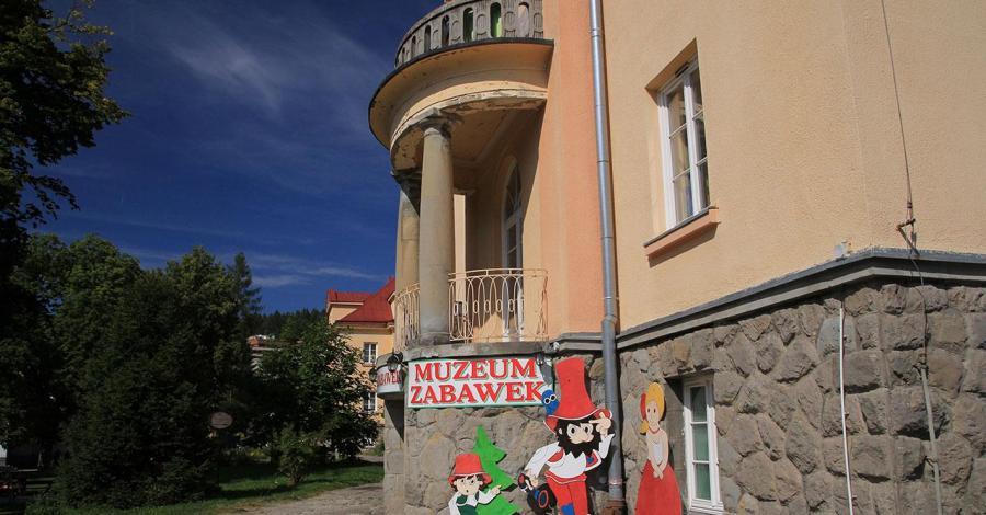 Muzeum zabawek w Krynicy Zdroju - zdjęcie