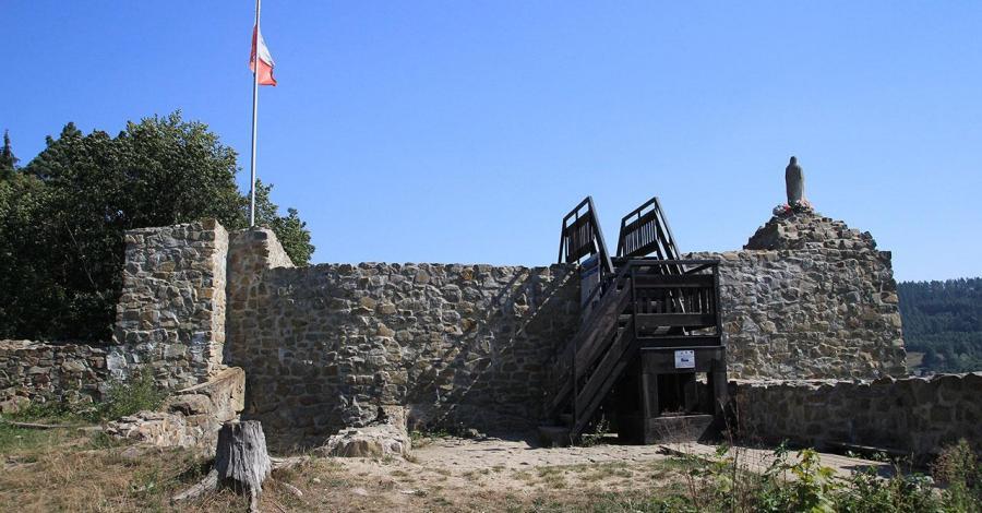 Zamek w Muszynie - zdjęcie