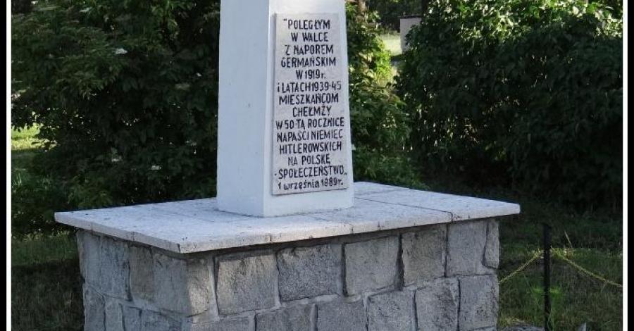 Pomnik ku czci poległym w Nowej Chełmży - zdjęcie