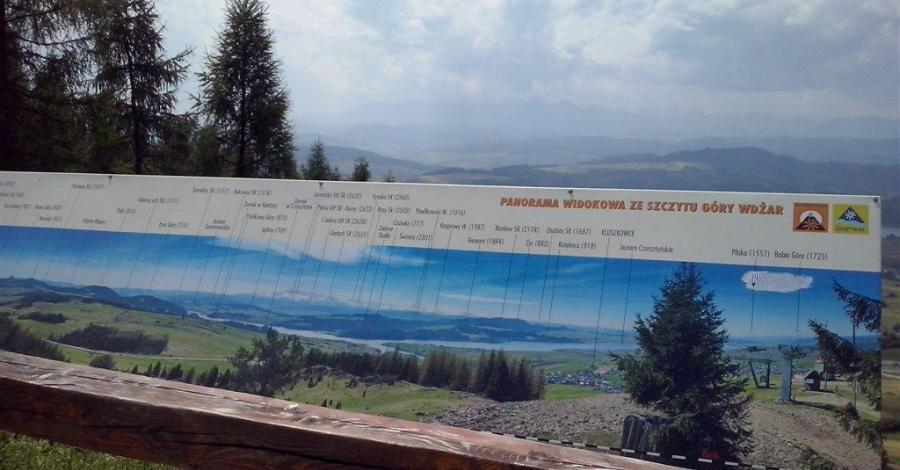 Punkt widokowy na Górze Wdżar - zdjęcie