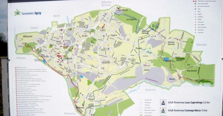 Zagłębie Dąbrowskie (Sosnowiec-trasy rowerowe) - zdjęcie