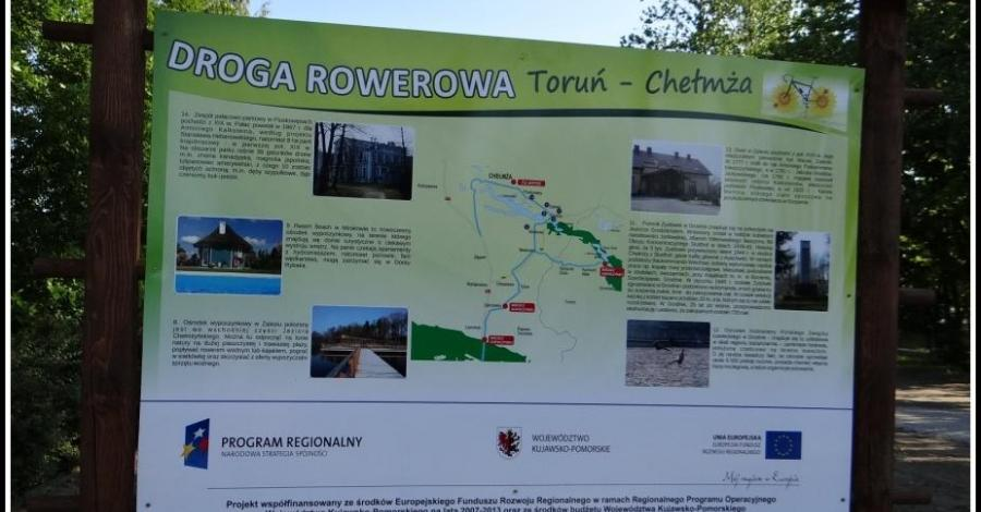 Trasa rowerowa z Torunia do Chełmży - zdjęcie