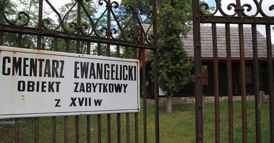 Cmentarz ewangelicki w Węgrowie - zdjęcie