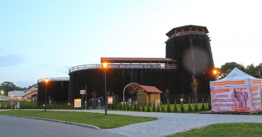 Tężnia Solankowa w Wieliczce - zdjęcie