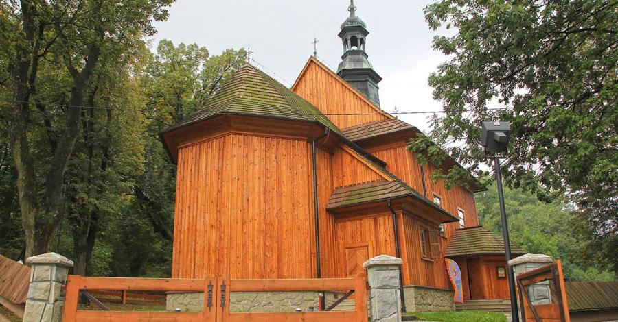 Drewniany kościół w Wieliczce - zdjęcie