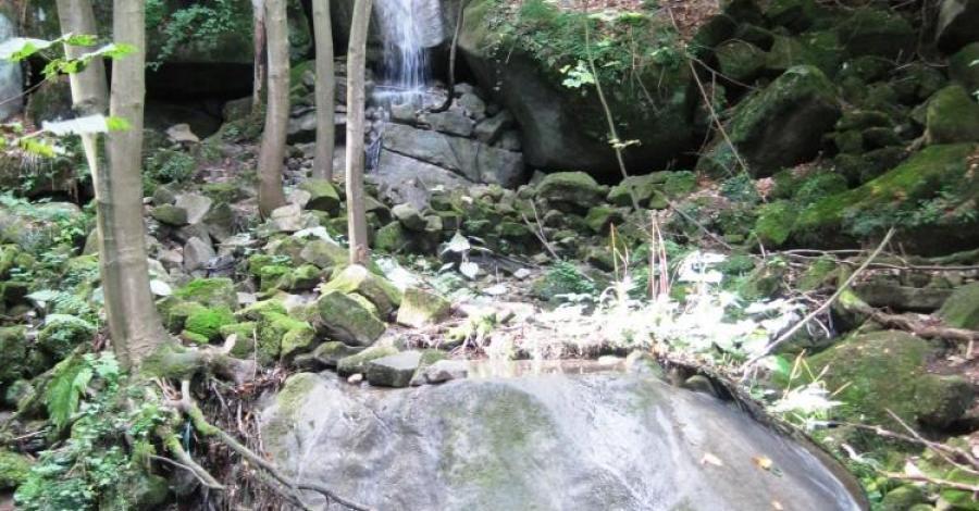 Wodospad Pośny - zdjęcie