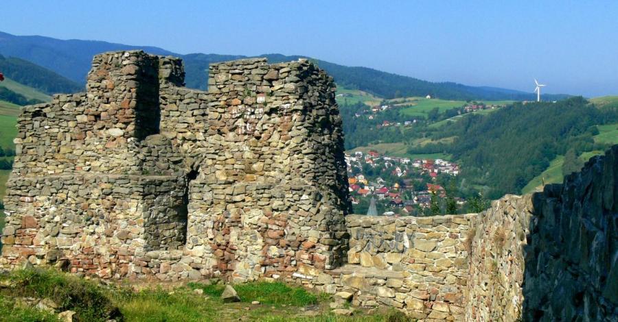 Zamek w Rytrze - zdjęcie