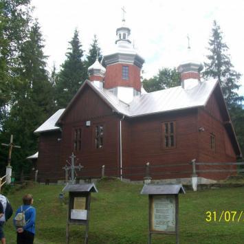 Dawna cerkiew w Kamiannej
