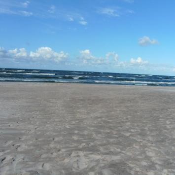 Plaża w Mielnie Unieściu