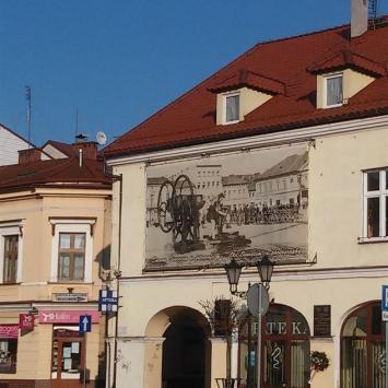 Dawny Hotel Herz w Oświęcimiu