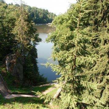 Jezioro Modre w Siedlęcinie