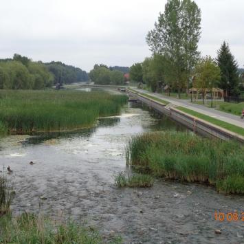 Kanał Bystry w Augustowie