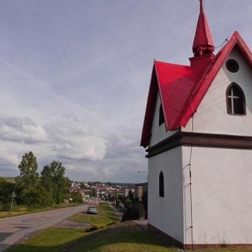 Kapliczka Św. Floriana w Woźnikach