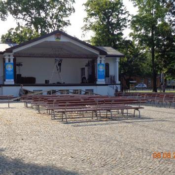 Muszla koncertowa w Suwałkach