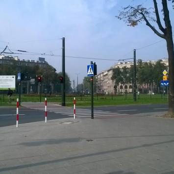 Plac Centralny w Krakowie