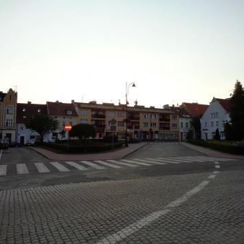 Plac Michała Kajki w Mrągowie