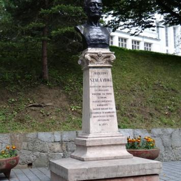 Pomnik Józefa Szalaya w Szczawnicy