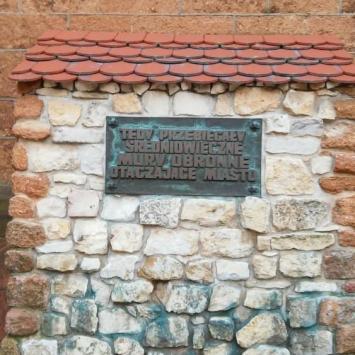 Mury obronne w Olkuszu