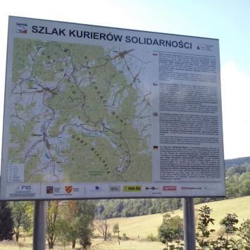 Szlak Kurierów Solidarności w Górach Złotych