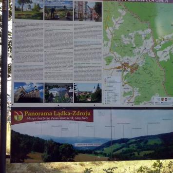 Trasy pogranicza w Lądku Zdroju