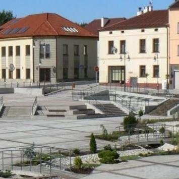 Rynek w Trzebini