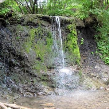 Wodospad Siklawa Ostrowskich w Bieszczadach